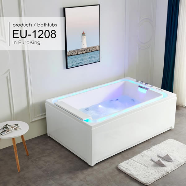Bồn tắm massage Euroking Eu-1208