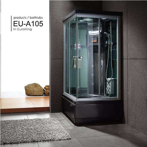 Phòng xông hơi Euroking Eu-A105 White
