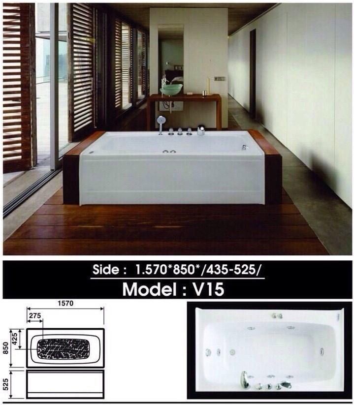 Bồn tắm Việt Mỹ V15
