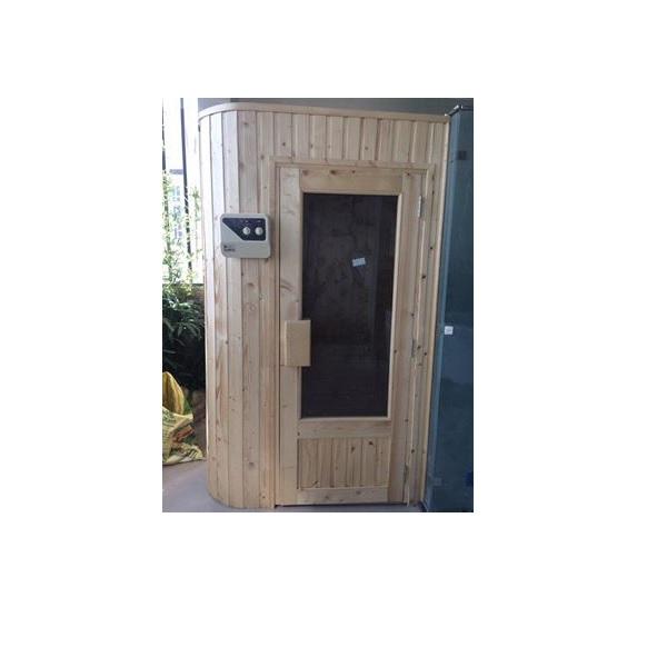 Thiết kế phòng xông hơi gỗ thông Phần Lan 1000x1000x2000mm