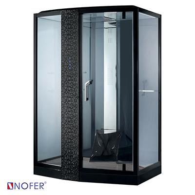 Phòng xông hơi ướt Nofer VS-89102S-L Black