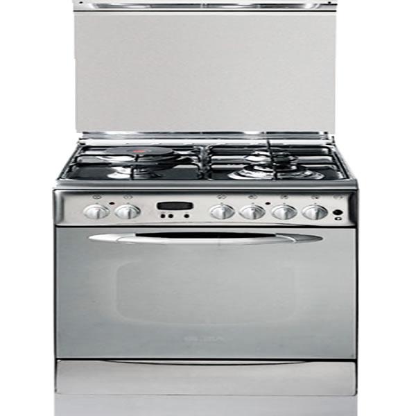 Bếp tủ liền lò Elba 91x250