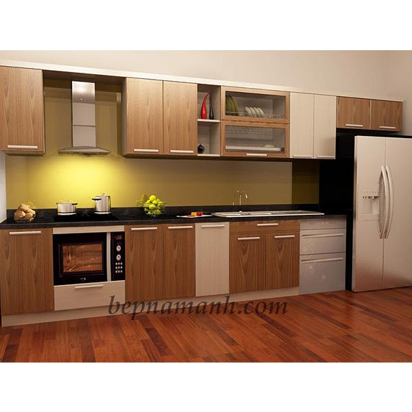 Tủ bếp gỗ công nghiệp Laminate 2