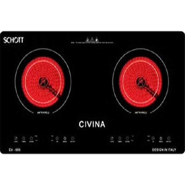 Bếp hồng ngoại Civina CV-686