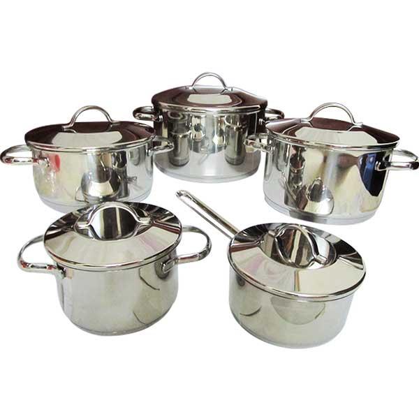 Bộ nồi inox dùng cho bếp từ nhập khẩu Hàn Quốc