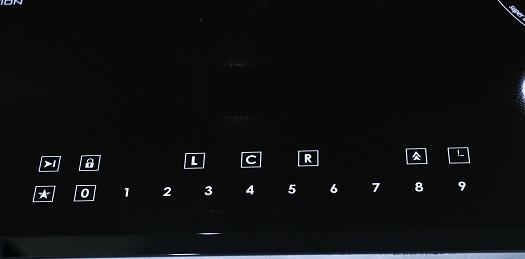 hệ thống bảng điều khiển của bếp