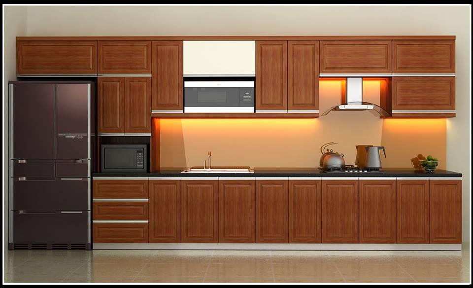 Tủ bếp gỗ HAGL cao cấp