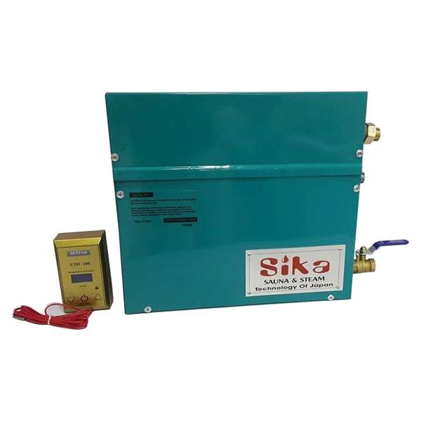 Máy xông hơi ướt Sika 10,5 kw xả cơ
