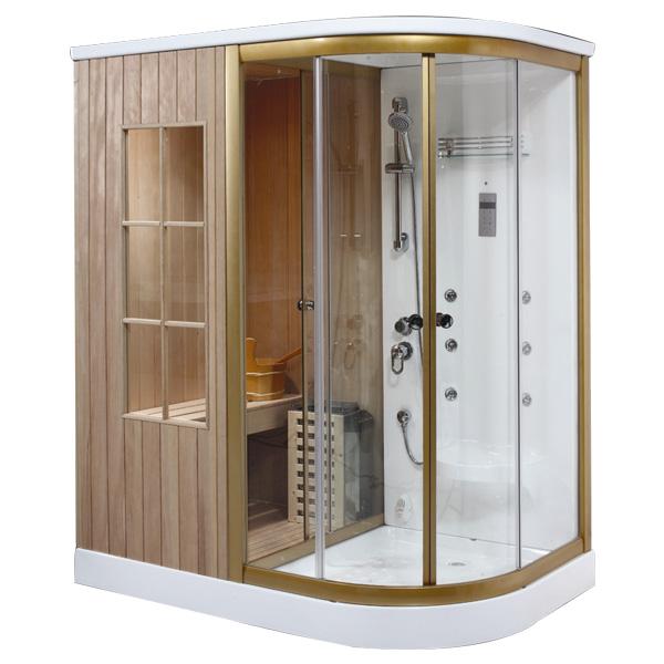 Phòng xông hơi khô kết hợp ướt Daros HT- 02