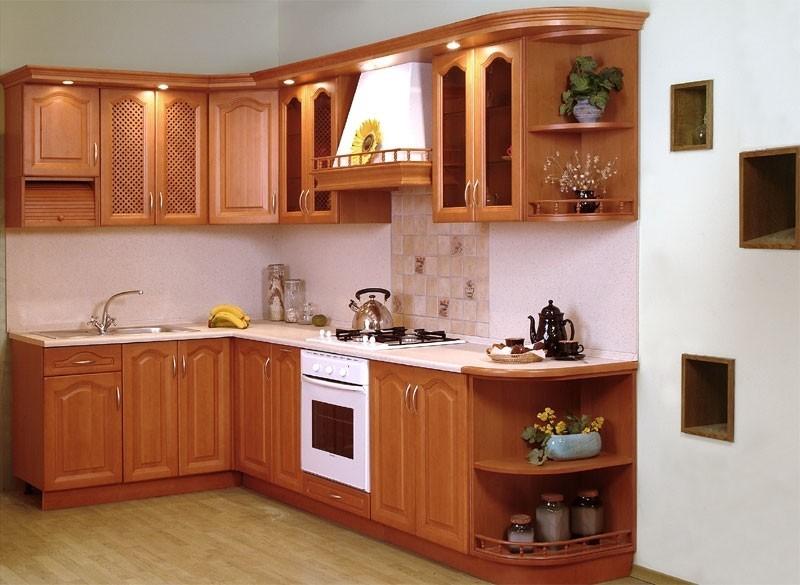 Tủ bếp xoan đào cao cấp