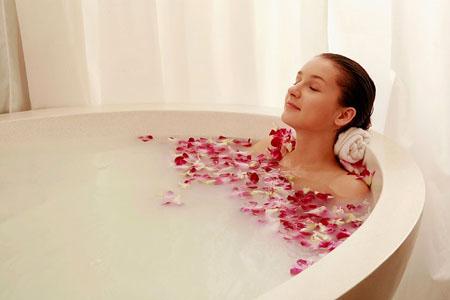 Lợi ích của việc ngâm mình trong bồn tắm