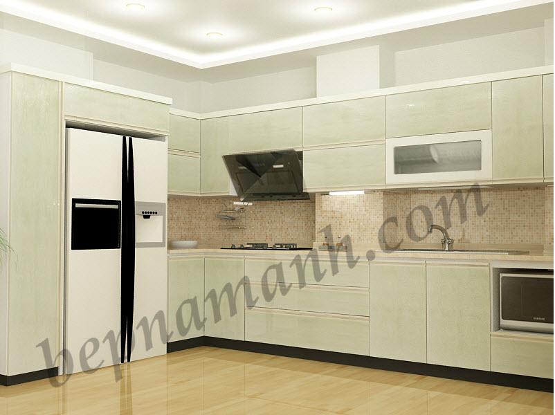 Tủ bếp nhựa Acrylic 5