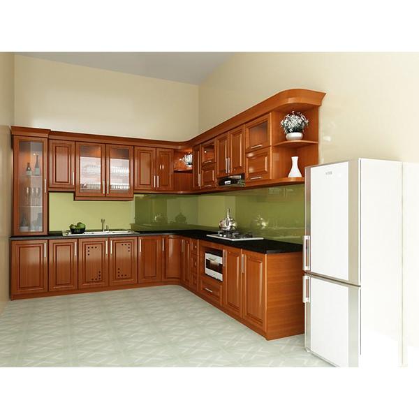 Tủ bếp Gỗ Xoan Đào Tây Bắc 3