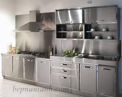 Kết quả hình ảnh cho tủ bếp Inox