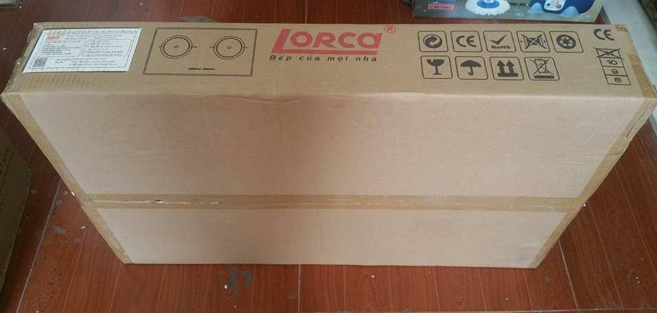 vỏ hộp của bếp từ Lorca