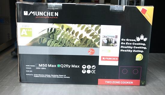 vỏ hộp bếp từ munchen q2flymax